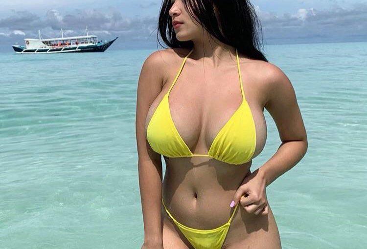 Pandora's Yellow Bikini